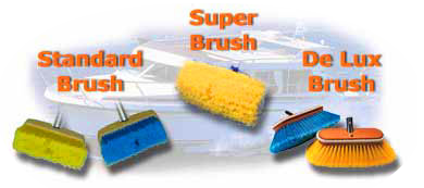 Snappy Boat Brushes